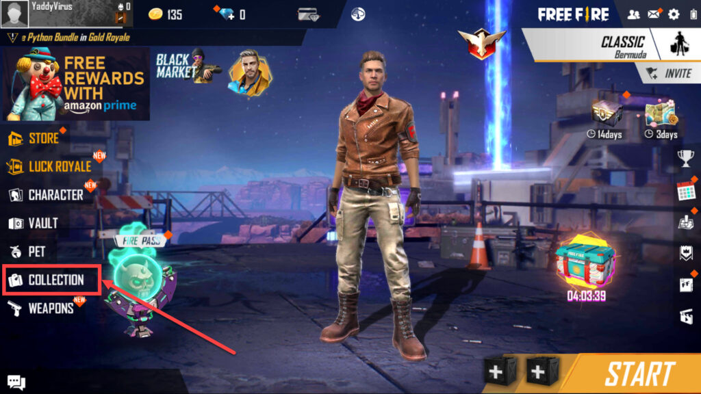 How to equip emotes in Free Fire?   Candid.Technology