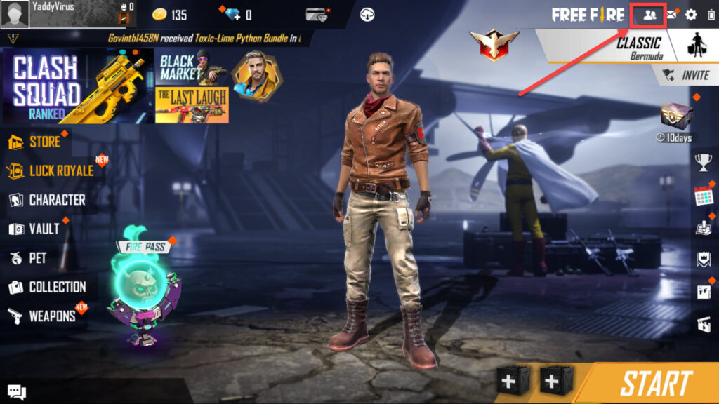 How to invite friends in Free Fire? | Candid.Technology