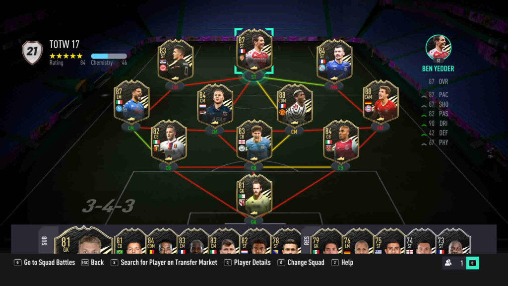 FIFA 21 FUT TOTW: Team Of The Week 17 | Candid.Technology