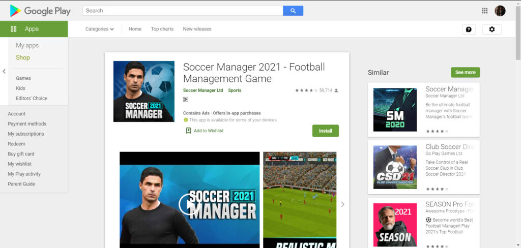 Top 8 Football Manager Games on Android 2021
