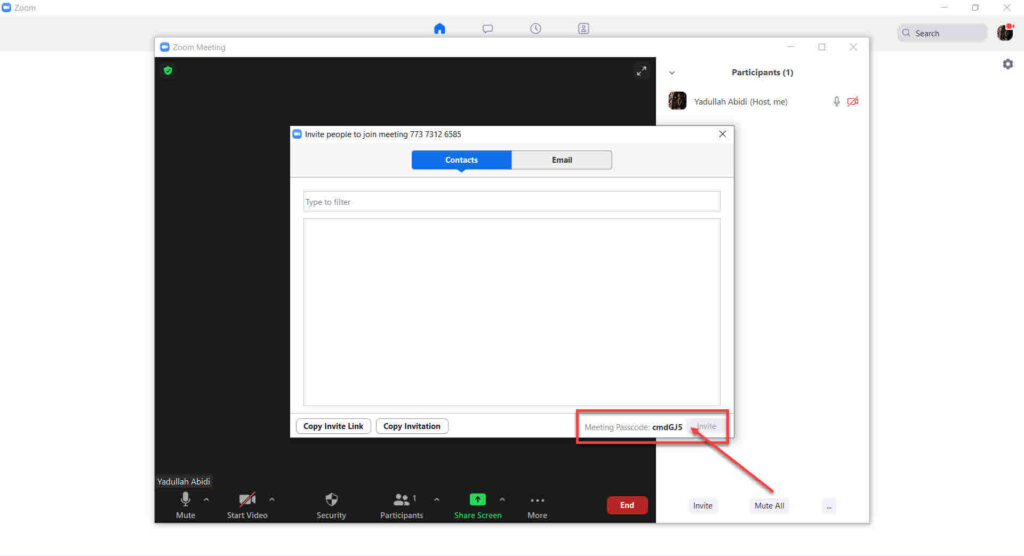 How to find Zoom Meeting password on PC and Mobile?