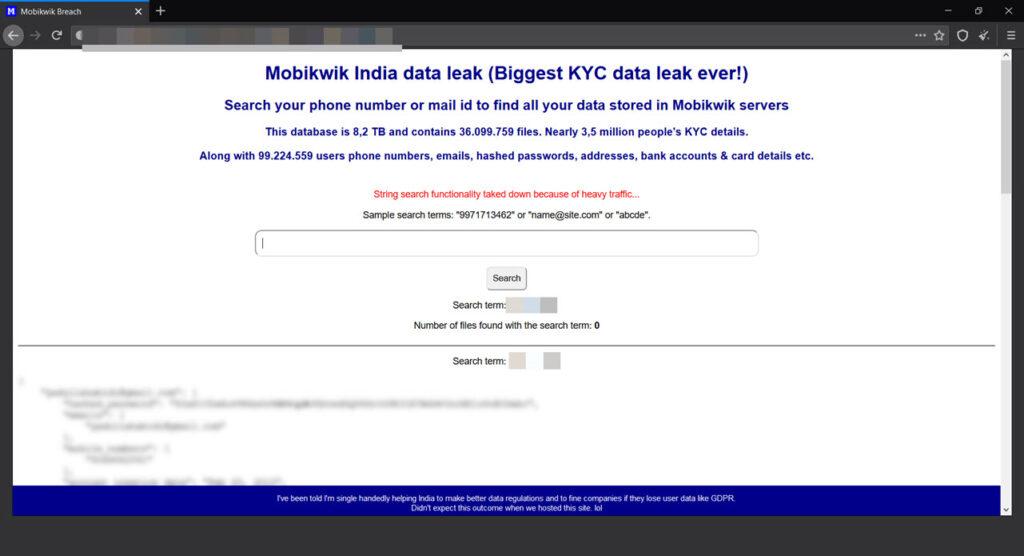 Mobikwik Data Breach: The story so far