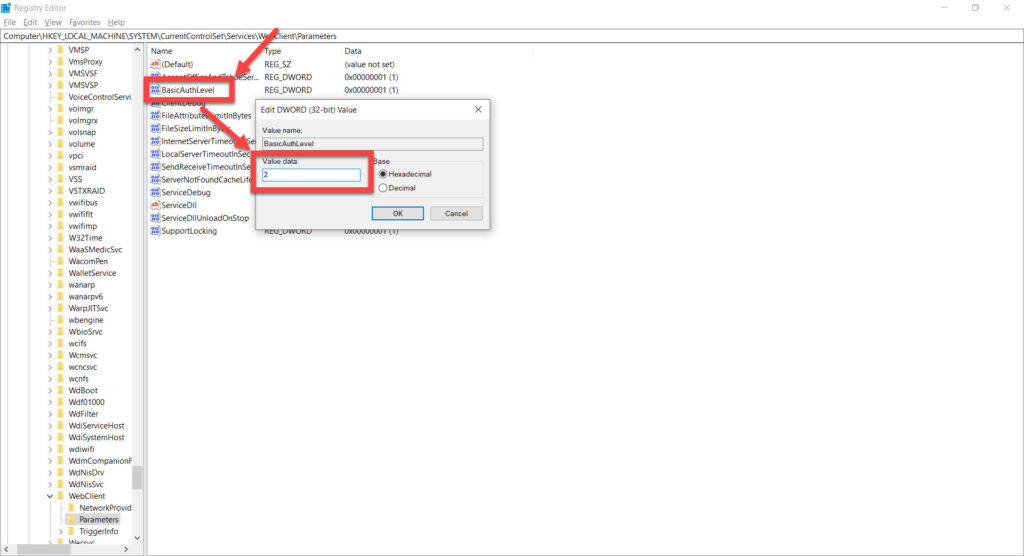 How to map and access Webdav drive in Windows 10?