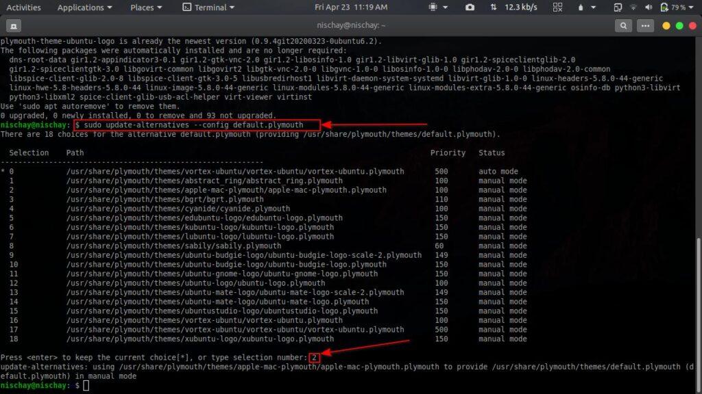 How to change boot animation in Ubuntu? | Candid.Technology