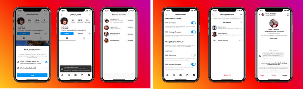 Instagram brings abusive DM request filter and improved blocking tool