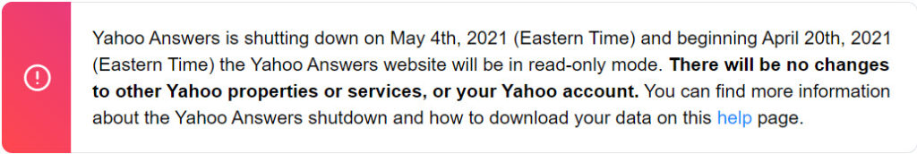 Yahoo Answers is shutting down on May 4   Candid.Technology