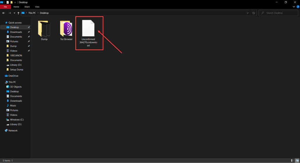 How to open CRDOWNLOAD files?