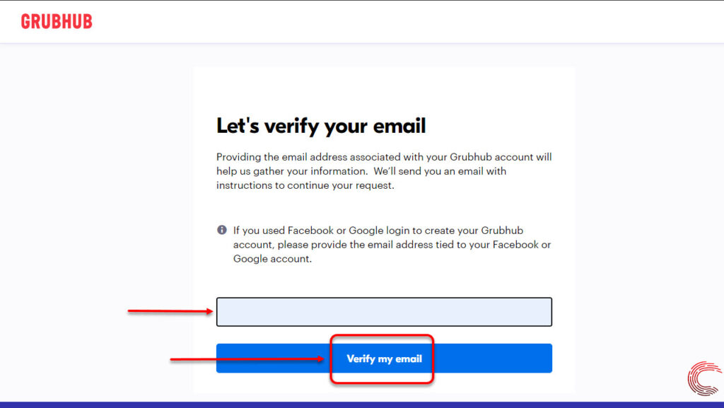 How to delete Grubhub account?