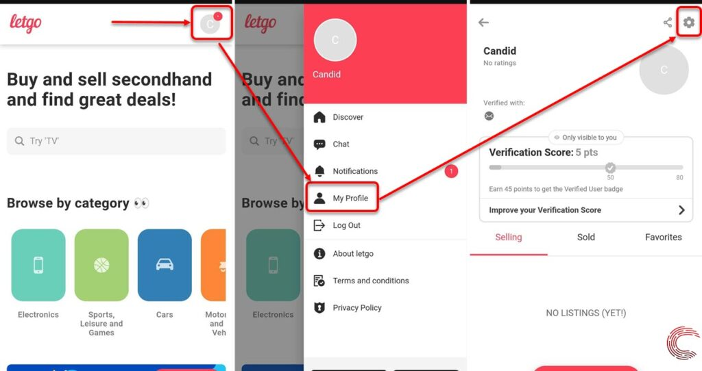 How to delete Letgo account? | Candid.Technology