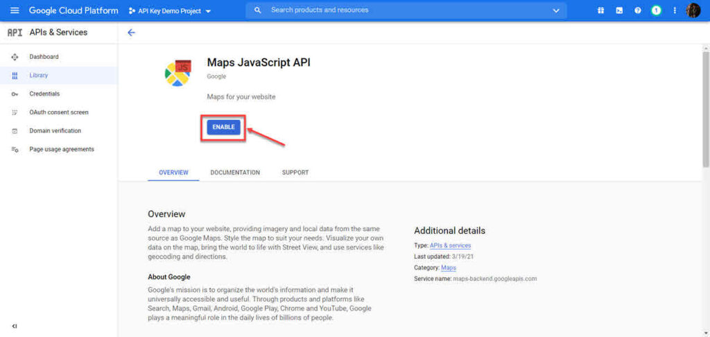 How to get Google Maps API key?   Candid.Technology