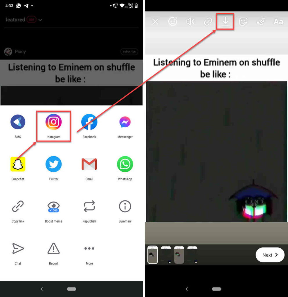 How to save videos from iFunny?