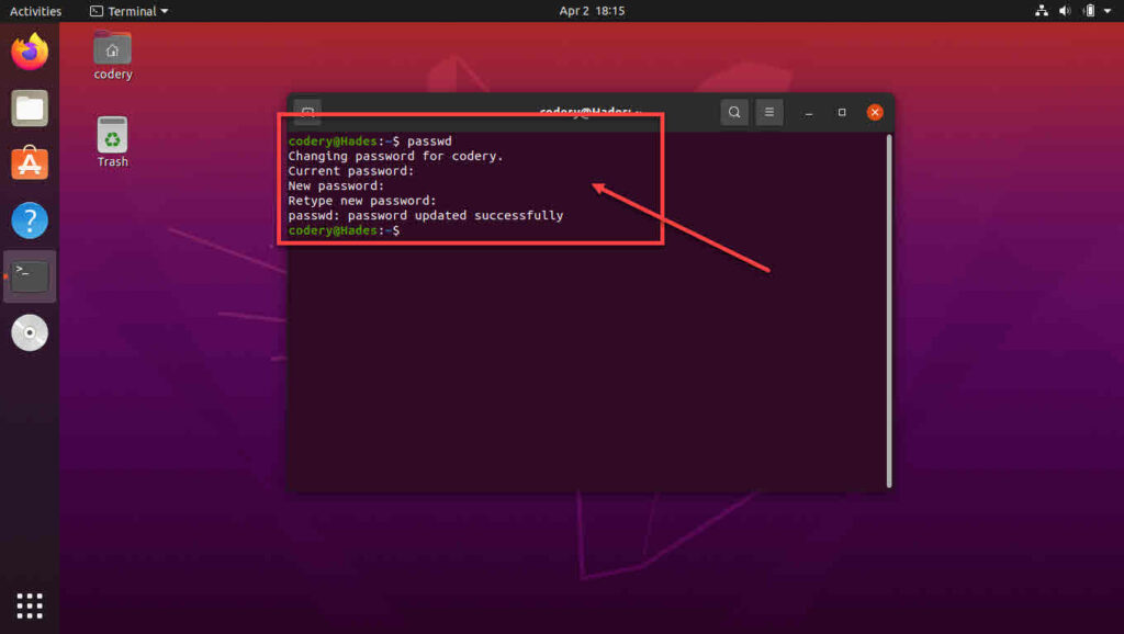 How to change password in Linux? | Candid.Technology