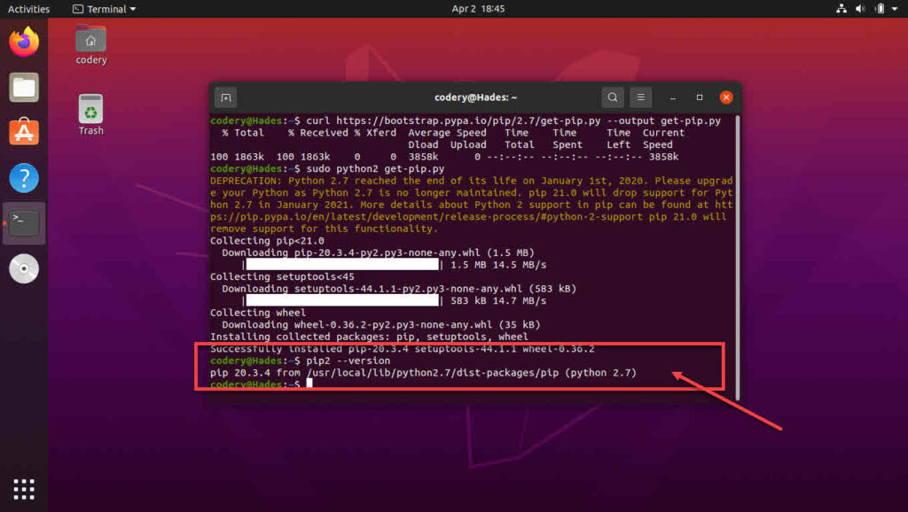 How to install pip in Ubuntu? | Candid.Technology
