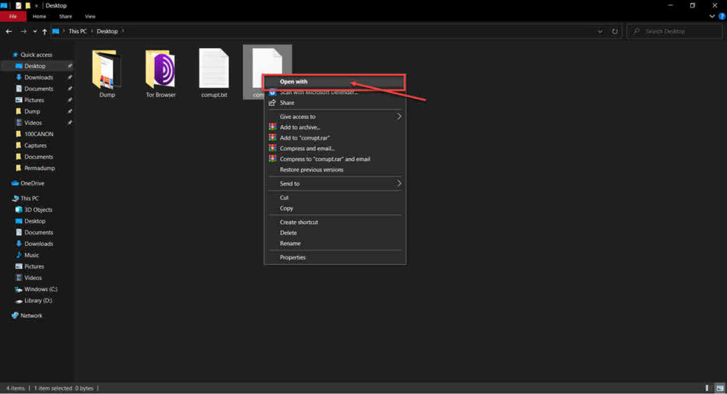 How to open Null file? | Candid.Technology
