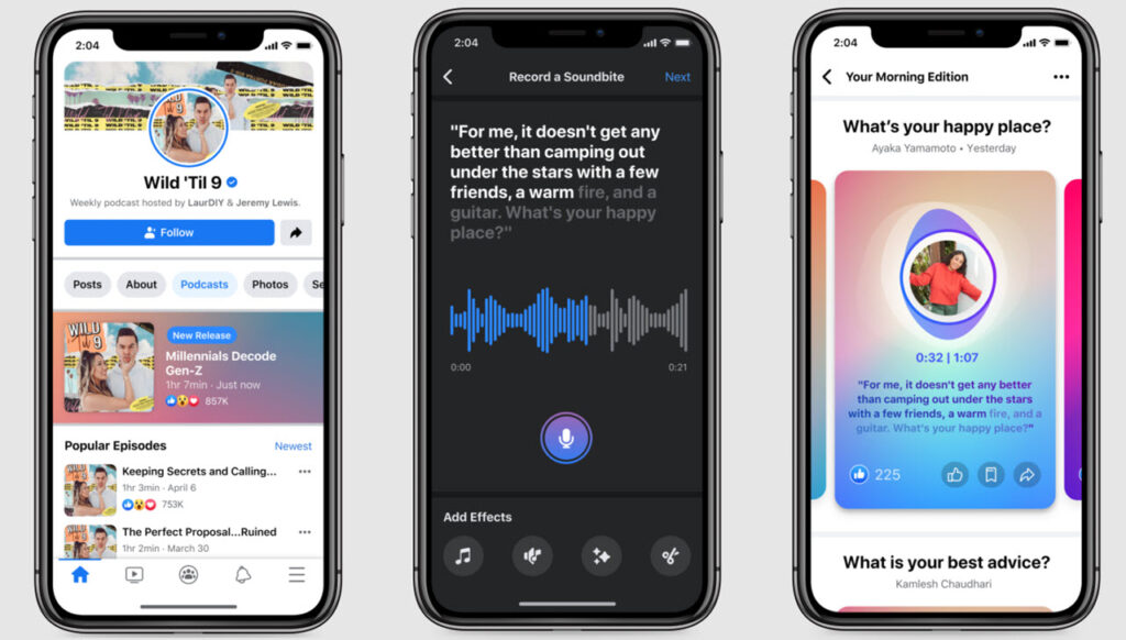 Facebook is working on new audio tools, including a Clubhouse-rival