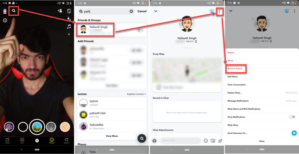 How to hide your Snap score? | Candid.Technology