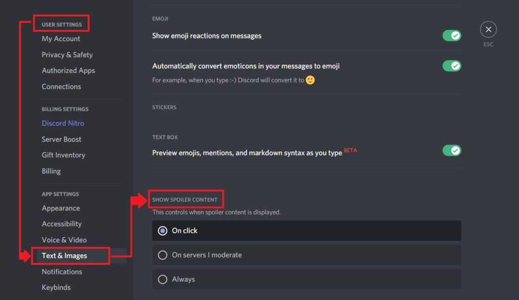 How to do Spoilers in Discord?