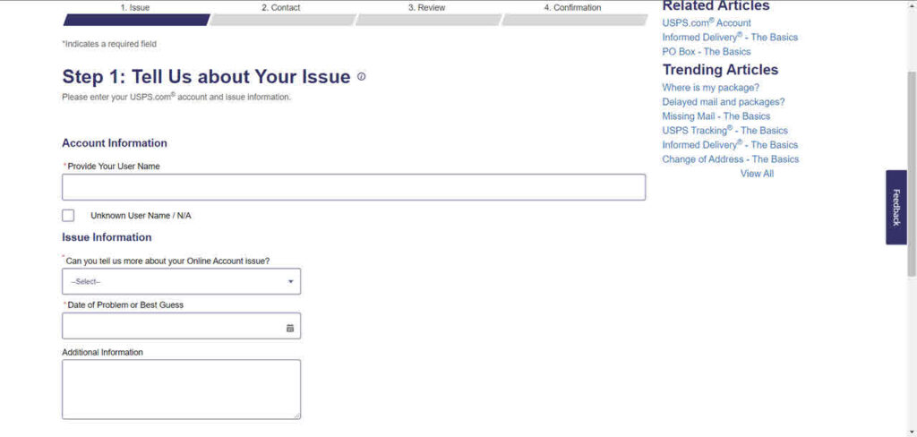 How to delete USPS account?   Candid.Technology