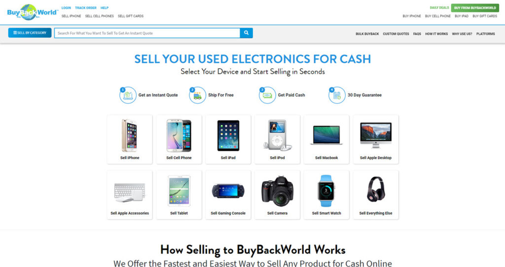 Where can I sell my laptop, phone and other gadgets?