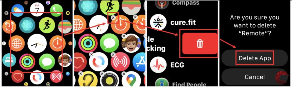 How to delete apps on Apple Watch? | Candid.Technology