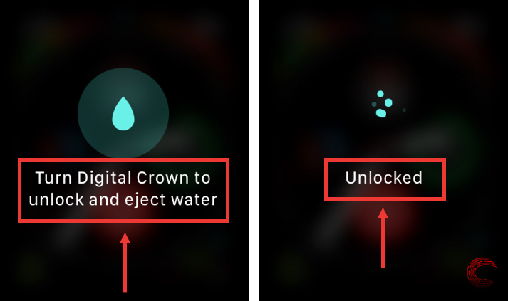 How to eject water from Apple Watch?   Candid.Technology