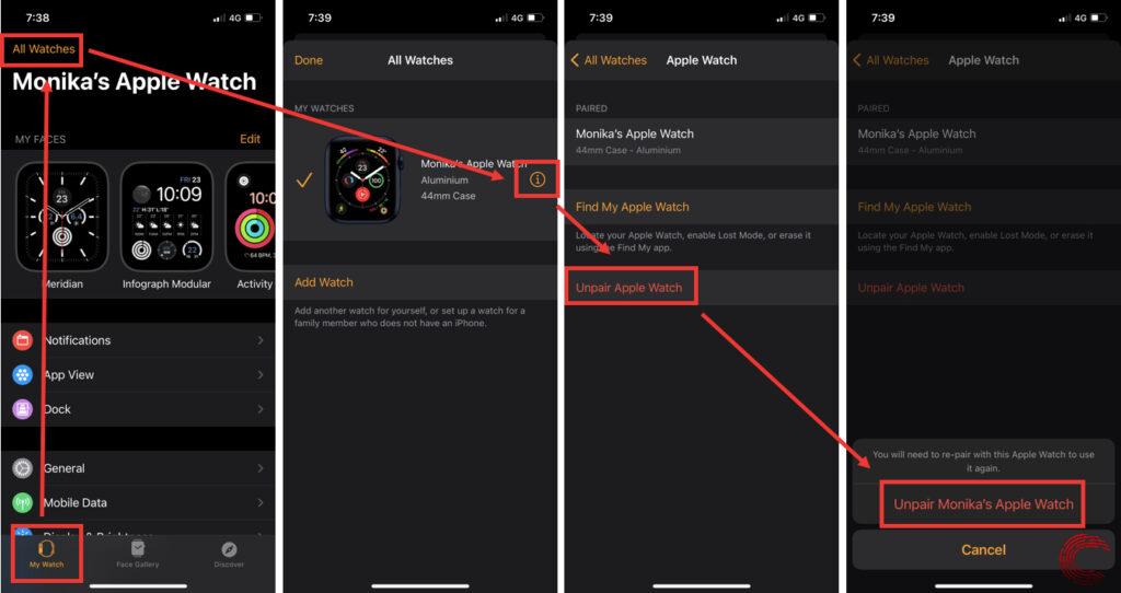 How to unpair Apple Watch? 3 easy methods explained