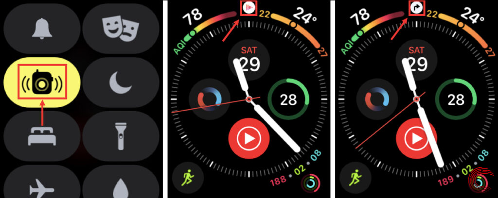 What does the red dot mean on Apple Watch? Watch icons explained