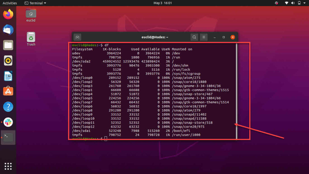 What is DF? How to check disk space in Linux using DF?