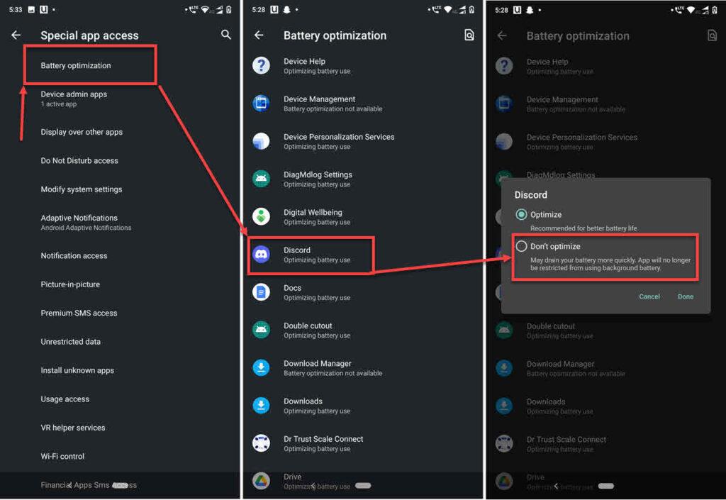 How to fix 'Discord notifications not working' error?