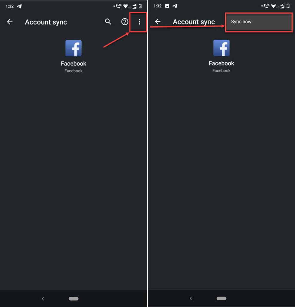 How to fix 'Facebook notifications not working' error?