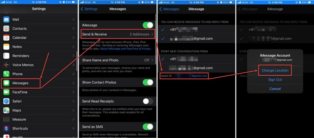 How to fix the iMessage signed out error? | Candid.Technology