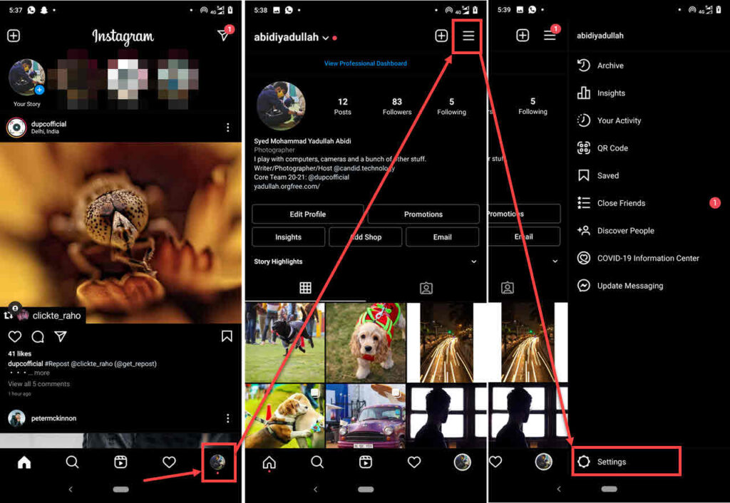 How to add highlights on Instagram without posting?