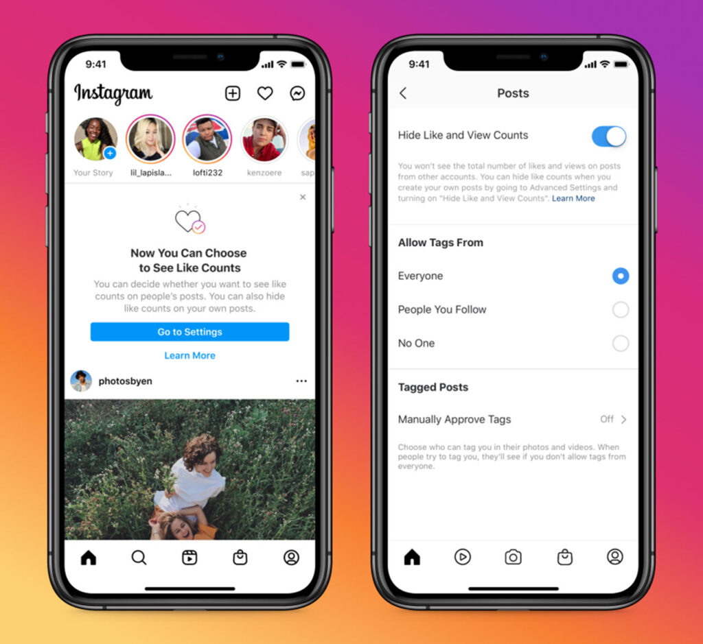 Instagram users can now hide the Like counter; Facebook to follow