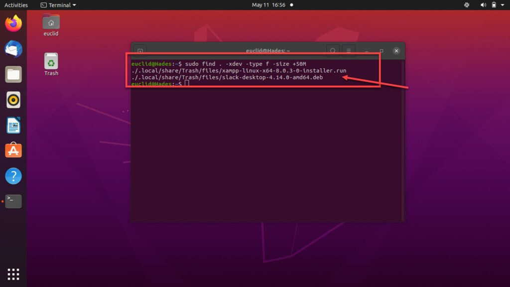 How to find large files in Linux? | Candid.Technology