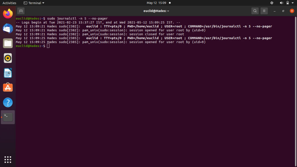 How to use Journalctl to read Linux logs?   Candid.Technology