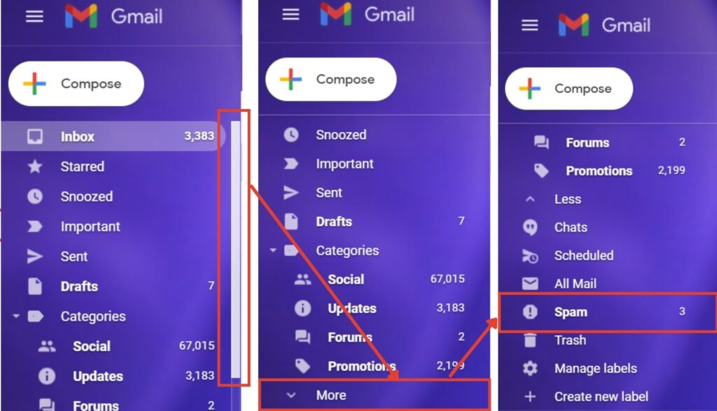 When does Gmail mark an email as spam? | Candid.Technology