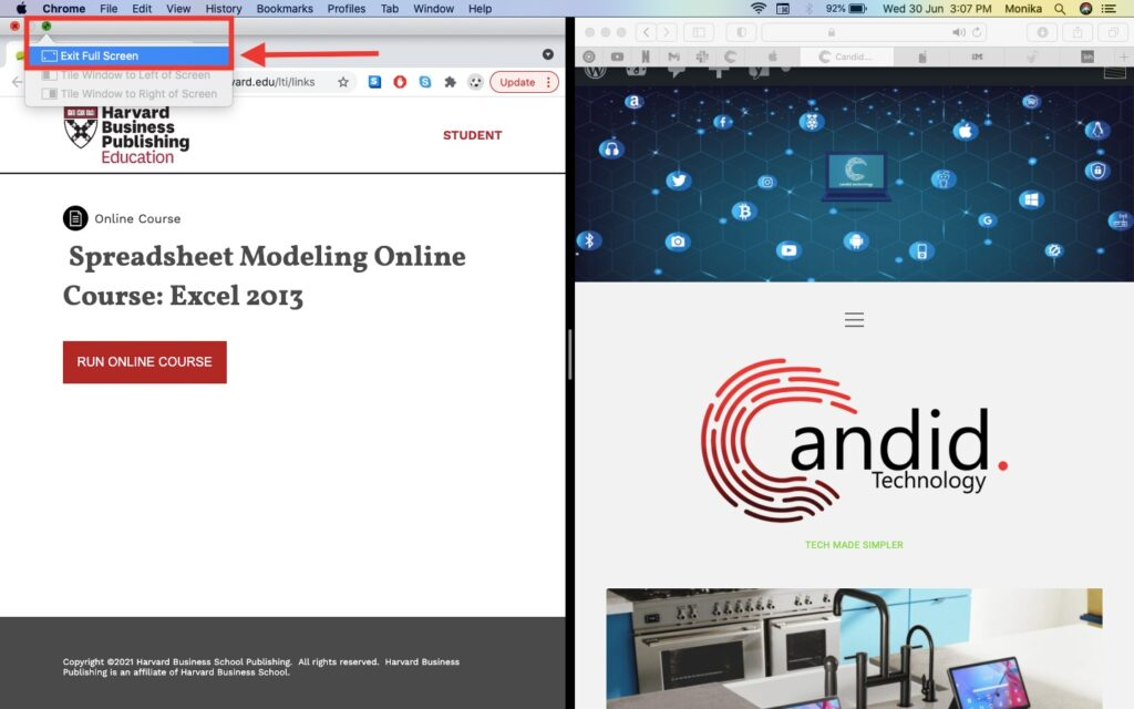 How to split screen on Mac? | Candid.Technology
