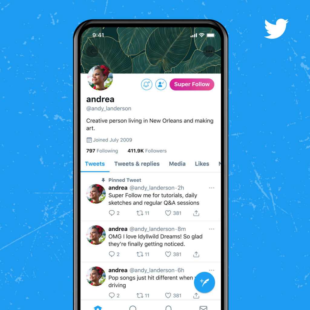 Twitter rolls out Ticketed Spaces and Super Follows