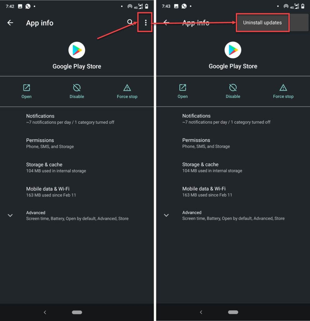 How to fix df dferh 01 error on Google Play Store?