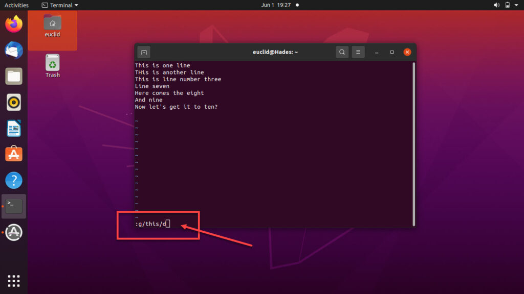 How to delete lines in Vim? | Candid.Technology