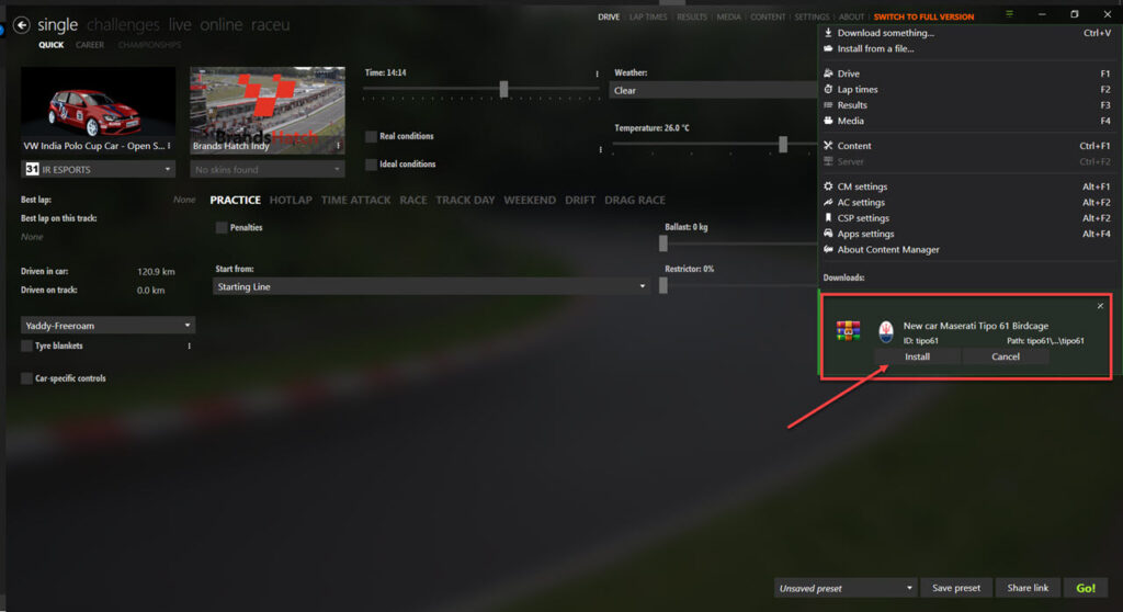 Where to get Assetto Corsa mods and how to install them?