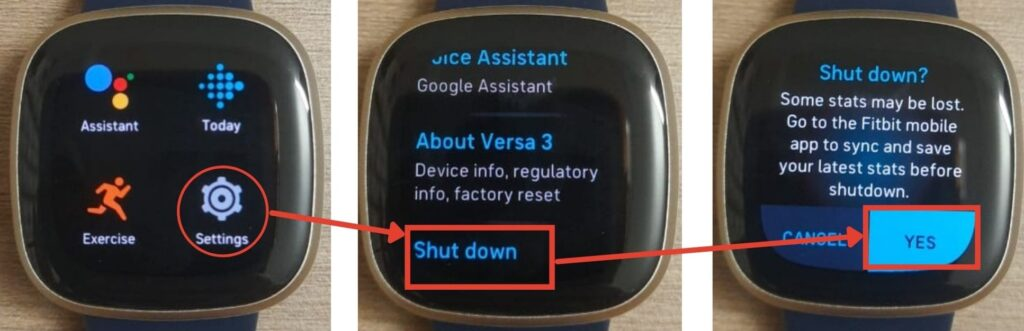 How to reset Fitbit Versa? | Candid.Technology