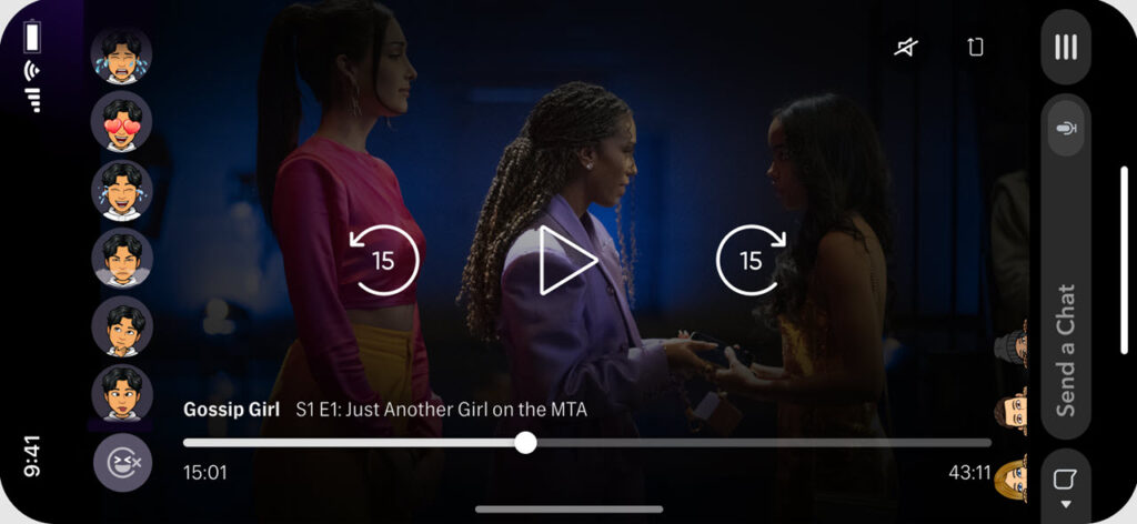 HBO Max brings full episodes to Snapchat that can be watched in groups