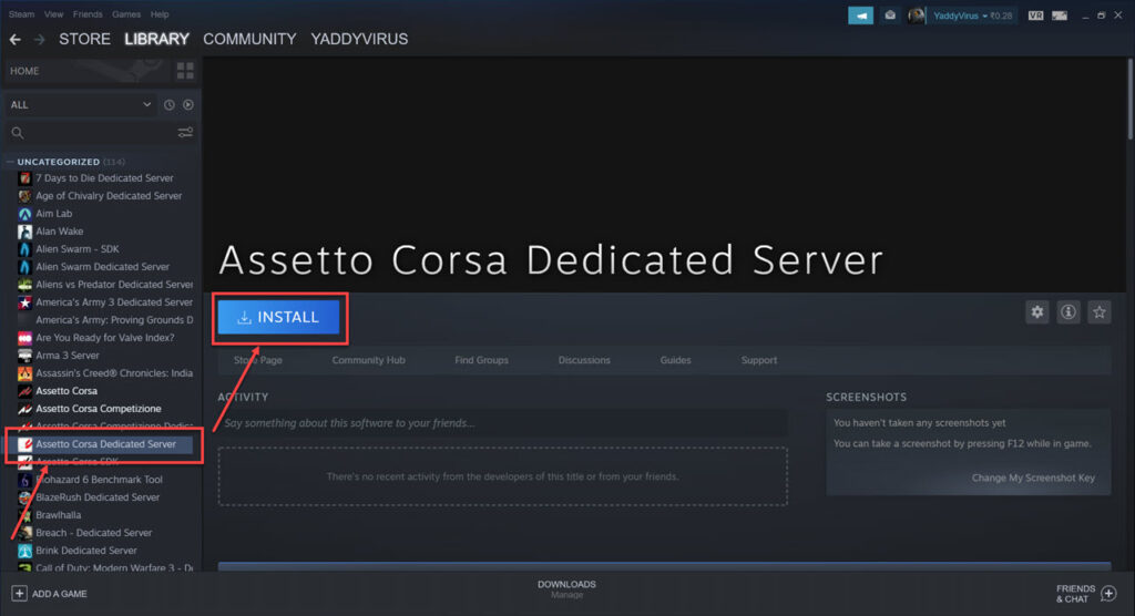 How to create a server in Assetto Corsa?   Candid.Technology