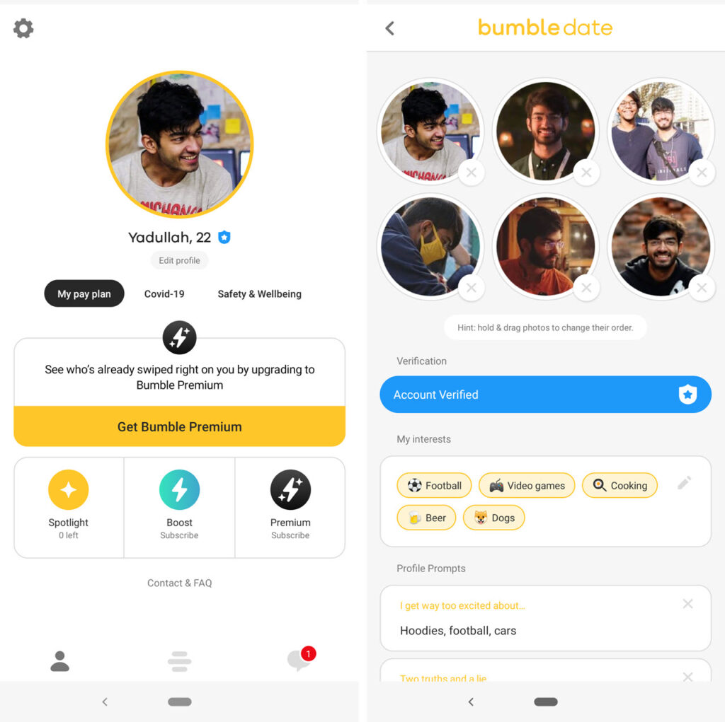 Hinge vs Bumble vs Tinder: Which one is the best dating app?