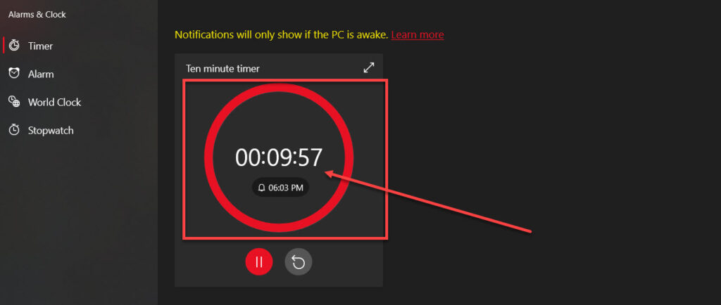 How to set an alarm for 10 minutes?   Candid.Technology