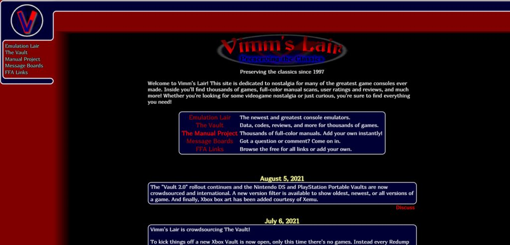 What is Vimm's Lair? Is it safe? | Candid.Technology