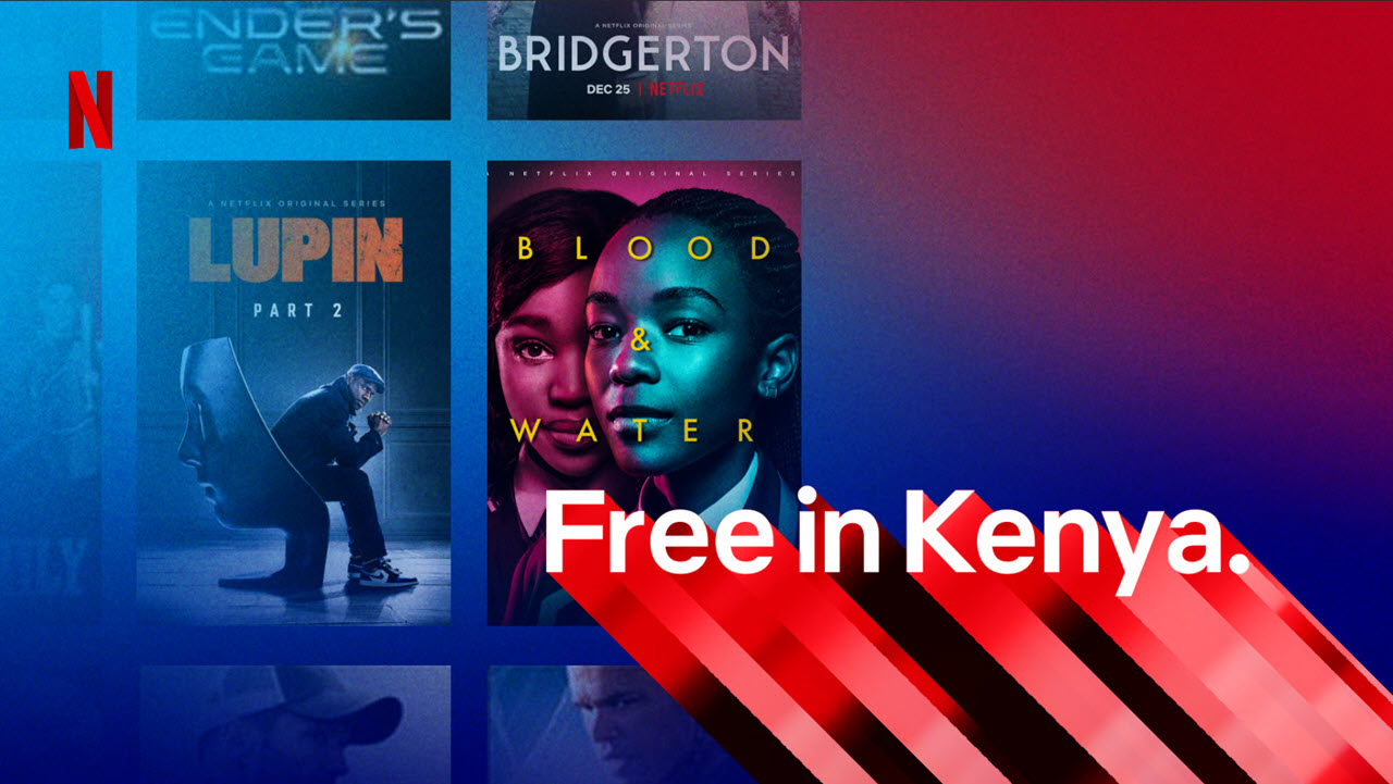 Netflix is available for free in Kenya