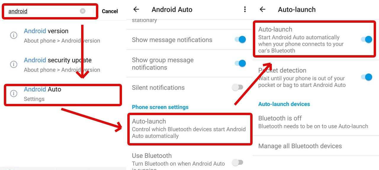 How to disable Android Auto?
