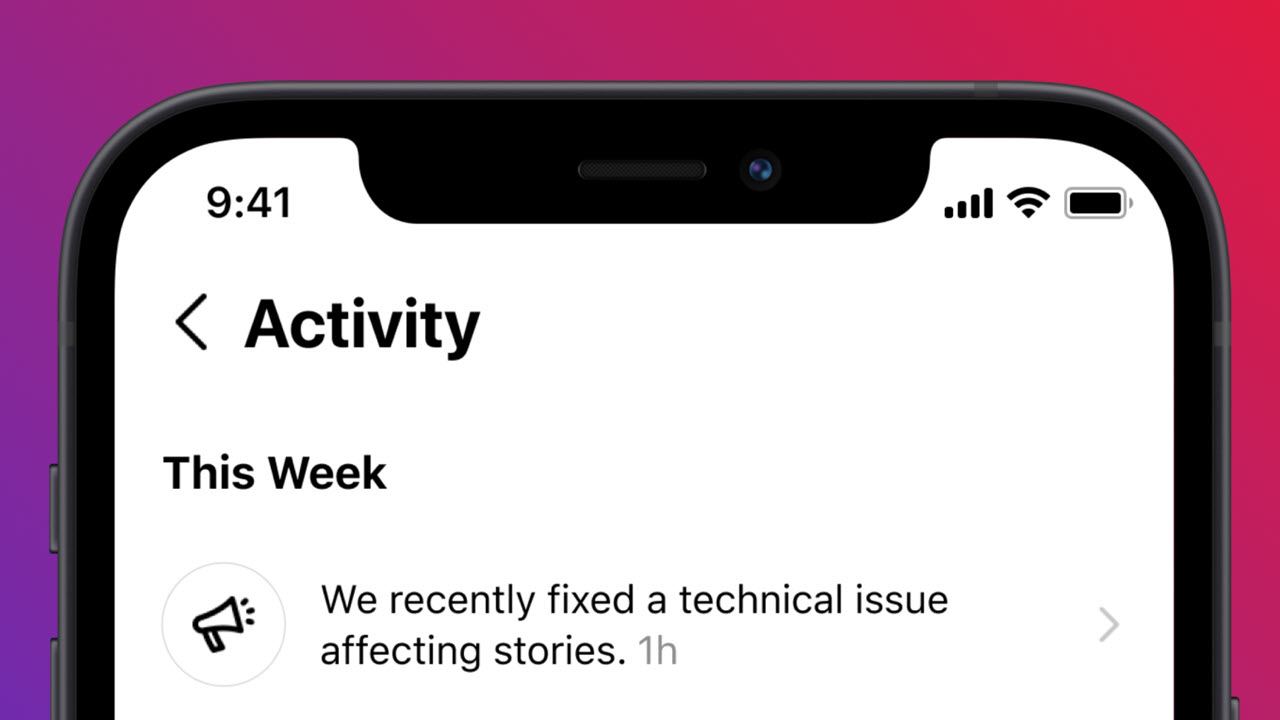 Instagram will now tell you if Instagram is down